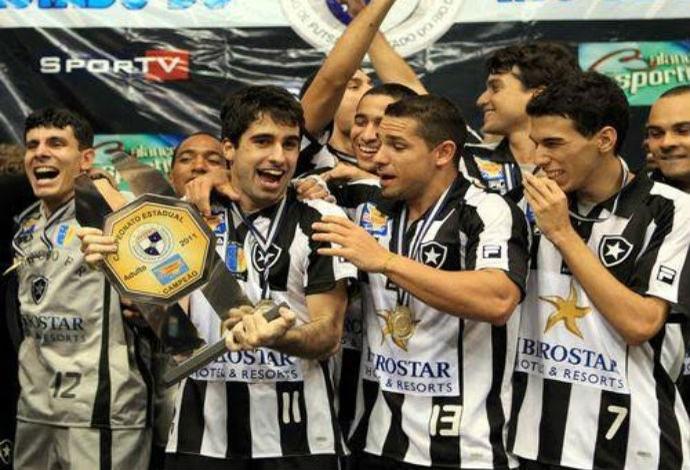 Pedro Rei Botafogo futsal (Foto: Divulgação)