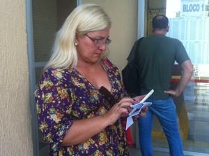 Selma aproveitou para relembrar conteúdos da prova da OAB (Foto: Isis Capristrano/G1 AM)