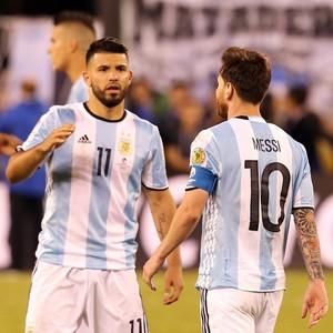 Agüero Messi Argentina (Foto: EFE)