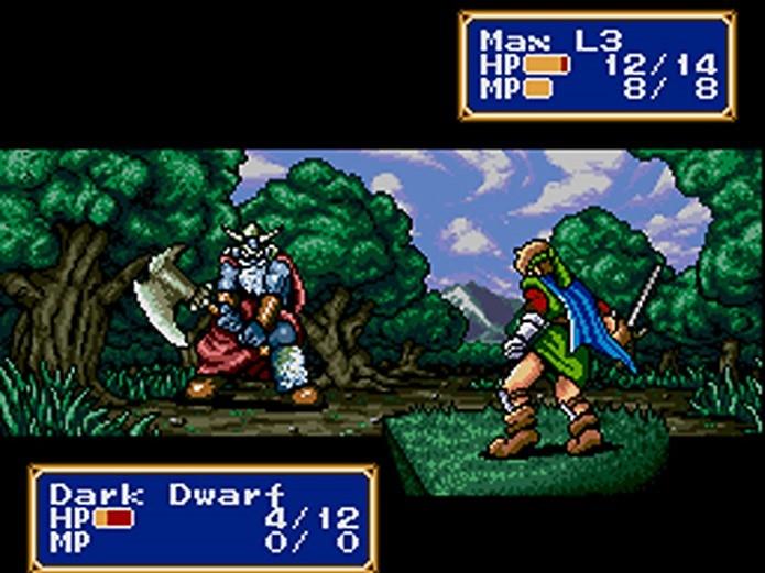 Shining Force 2 é um RPG inesquecível para Mega Drive (Foto: Divulgação)