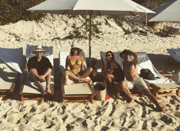 Paulo Gustavo, Bruna Marquezine, Tatá Werneck e Thales Bretas (Foto: Reprodução/Instagram)