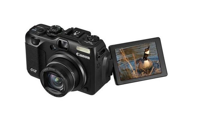 A Canon PowerShot G12 é um dos modelos mais vendidos de sua série (Foto: Divulgação/Canon)