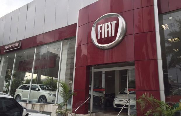 Concessionária Fiat na Zona Sul de São Paulo (Foto: Autoesporte)