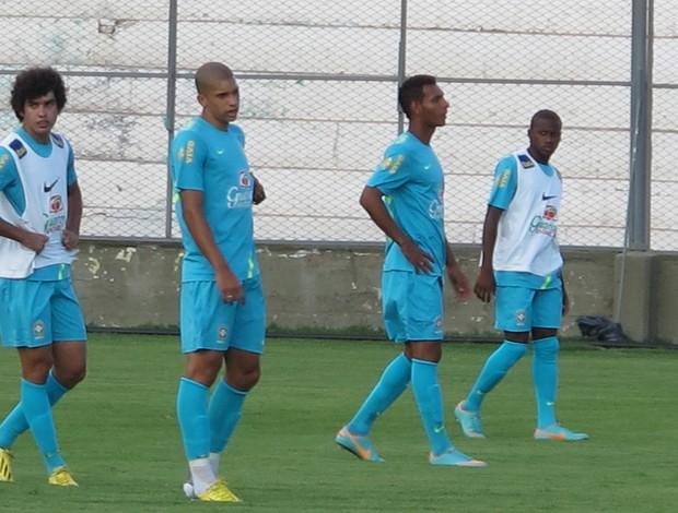 treino Sub-20 (Foto: Marcelo Baltar / Globoesporte.com)