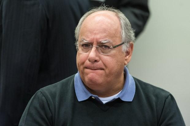 19/03/2015 - Renato Duque depõe na CPI da Petrobras em Brasília (Foto: Marcelo Camargo/Agência Brasil)