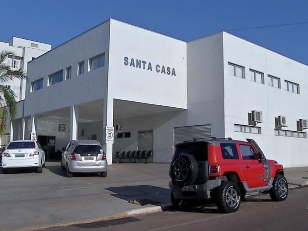 Santa Casa de Rondonópolis, Mato Grosso (Foto: Reprodução/TVCA)
