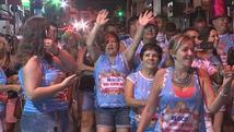 Bloco é destaque no carnaval de rua de Boituva (Reprodução/TV TEM)
