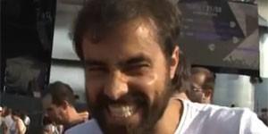 Ricardo Pereira sai à caça dos gringos (Reprodução/G1)