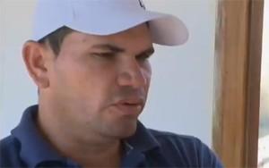 Roque Faustino era marido e pais das vítimas que morreram abraçadas no incêndio em Aparecida, no Sertão da Paraíba (Foto: Reprodução / TV Paraíba)