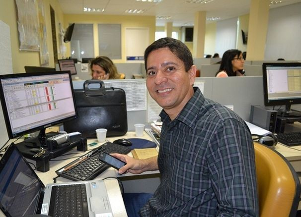 Ricardo Marques, apresenta o SETV 1ª Edição (Foto: Divulgação / TV Sergipe)