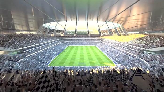 BLOG: NFL, shows e, claro, futebol: Tottenham divulga vídeo futurista de novo estádio