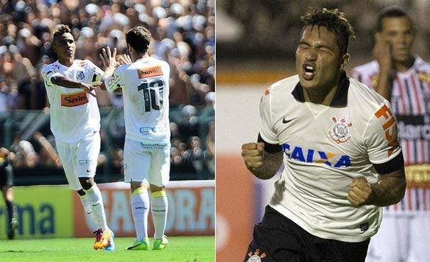 Santos e Corinthians se enfretam na quarta rodada do Campeonato Paulista (Foto: Reprodução/globoesporte.com/Agência Corinthians)