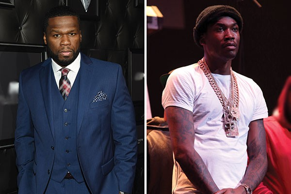 50 Cent e Meek Mill (Foto: Getty Images)