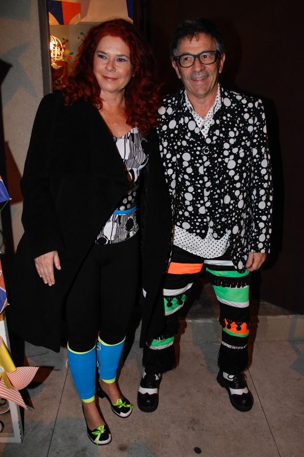 Sandra Peres e Paulo Tati, do Palavra Cantada (Foto: Manuela ScarpaManuela Scarpa e Marcos Ribas/Foto Rio News)