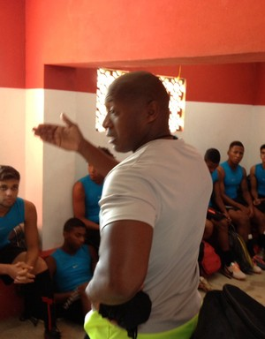 Macula, ex-jogador do Palmeira e técnico do Rio São Paulo (Foto: Divulgação/ Rio São Paulo)