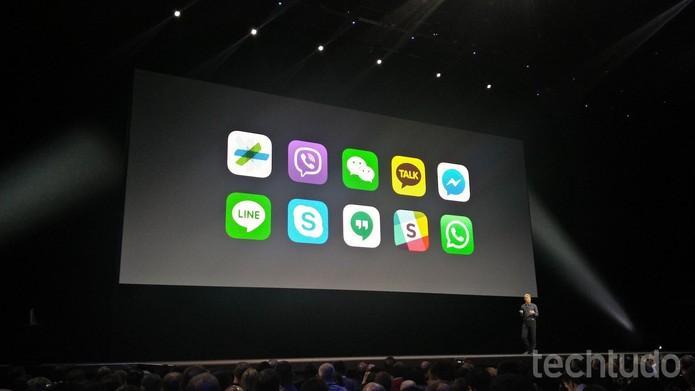 Apple abre API da Siri e permite integração entre aplicativos e Messages (Foto: Fabrício Vitorino/TechTudo)