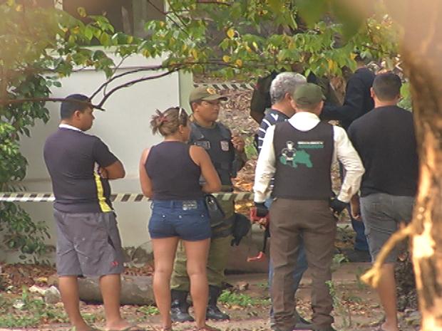 morto tiro ufopa (Foto: Reprodução/TV Tapajós)