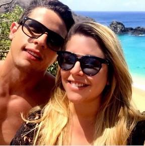 Caio Ornelas e Manuella Maya (Foto: Reprodução)