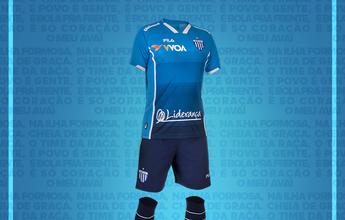 Avaí apresenta terceiro uniforme, que vai estrear no domingo, contra o Vasco