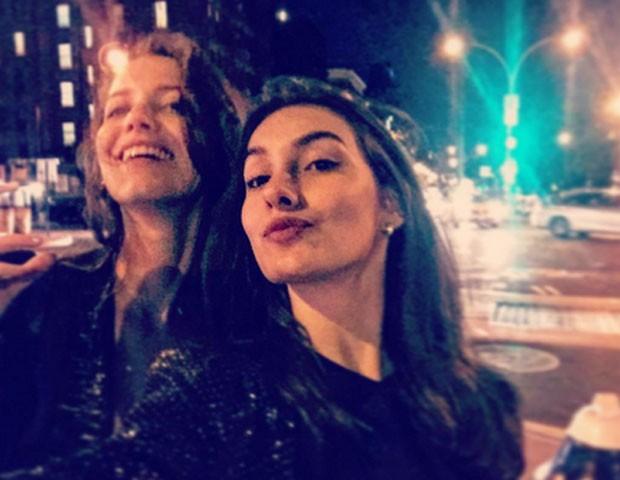 Nathalia Dill e Marina Moschen (Foto: Reprodução)