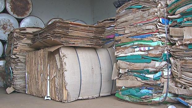 Série fala sobre a destinação do lixo (Foto: Reprodução/ TV Acre)