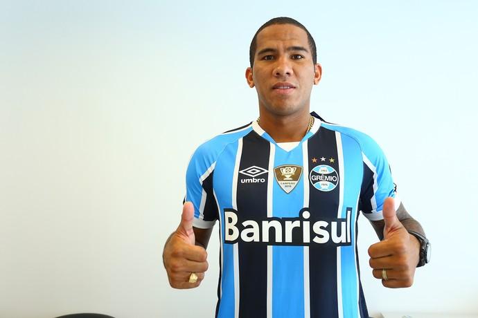 Jael atacante Grêmio (Foto: Lucas Uebel / Grêmio / Divulgação)