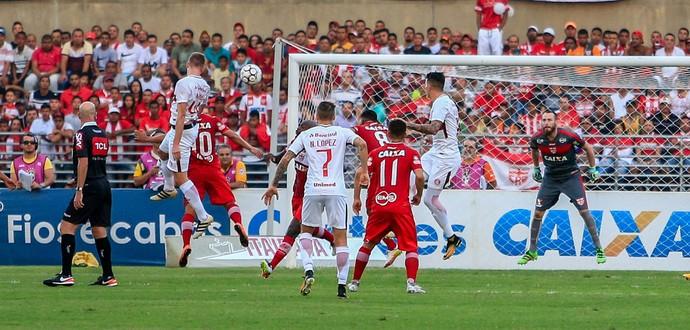 CRB x Internacional (Foto: Ailton Cruz/Gazeta de Alagoas)