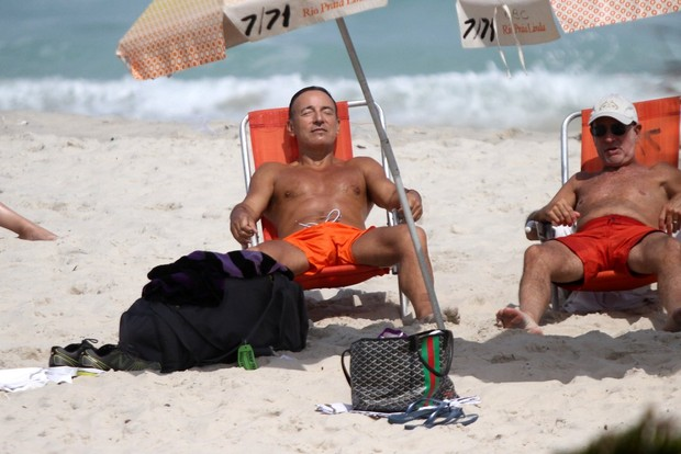 Bruce Springsteen no Rio (Foto: Marcos Ferreira - foto rio news)