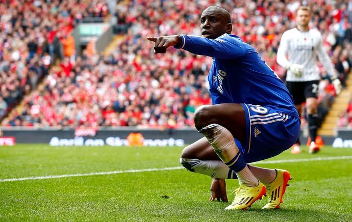 Demba Ba chelsea gol Liverpool (Foto: Agência Reuters)