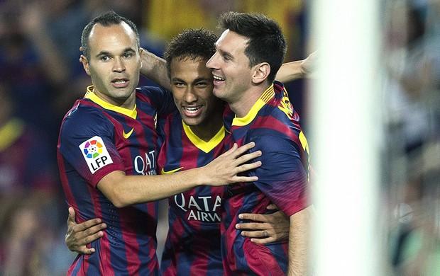 Neymar gol Barcelona contra Real Sociedad (Foto: EFE)