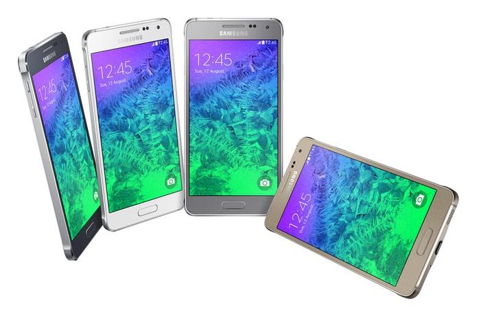 Galaxy Alpha possui preço justo para as suas especificações (Foto: Divulgação/Samsung)