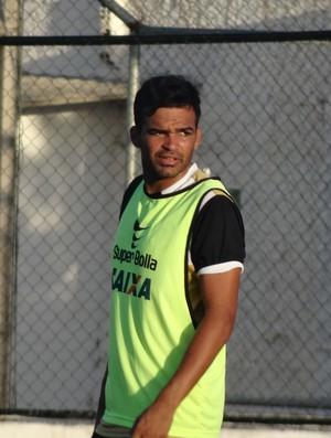 André Nunes, zagueiro do ASA (Foto: Leonardo Freire/GloboEsporte.com)