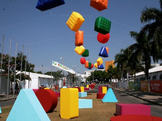 Olimpíada do Conhecimento 2014 (Foto: Nereu Leme)