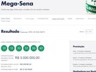 Aposta de Campina Grande leva mais de R$ 5 milhões na Mega-Sena