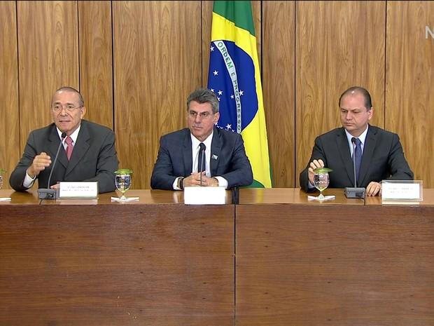 GNEWS - Ministros de Temer (Foto: Reprodução GloboNews)