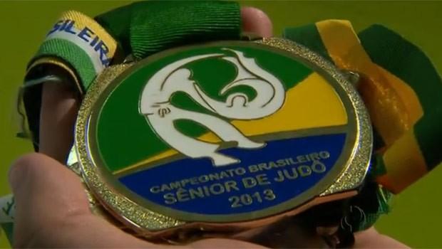 Paranaense venceu Brasileiro Sênior de Judô (Foto: Reprodução)