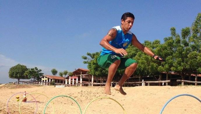Wanderley treino Assu (Foto: Divulgação)