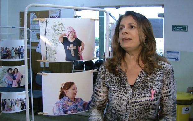 Empresária elogia iniciativa de expor fotografias  (Foto: Bom Dia Amazônia)