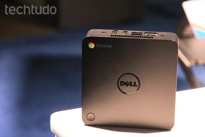 Dell Chromebox tem duas mais simples e outra focada em videoconferência (Foto: Anna Kellen/TechTudo)