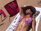 De biquíni sob o sol, Scheila Carvalho fala da importância da vitamina D