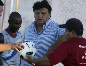 Luizinho Torquato, presidente do Guarany de Sobral (Foto: Kiko Silva / Agência Diário)