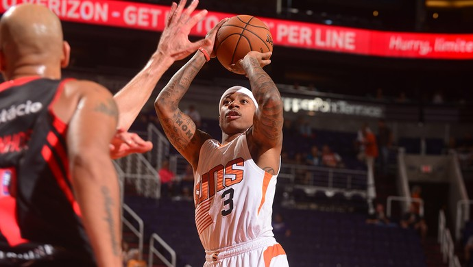Isaiah Thomas, basquete Flamengo x Phoenix Suns (Foto: Getty Images)