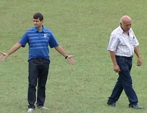 Gustavo Vieira, diretor executivo da Federação de Futebol (FES) (Foto: Reprodução/TV Gazeta)