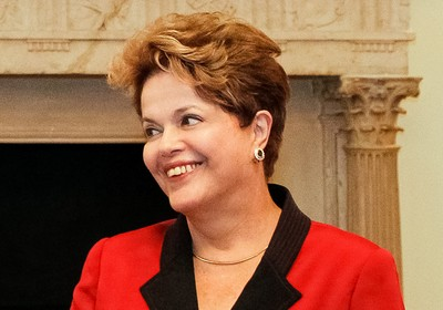 De Londres, Dilma fez cobranças a empresários brasileiros  (Foto: Roberto Stuckert Filho/PR)