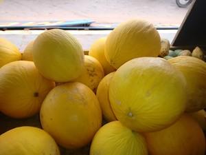Segundo nutricionista, o melão é uma das fontes de proteína (Foto: Luti Gomes/Globoesporte.com)