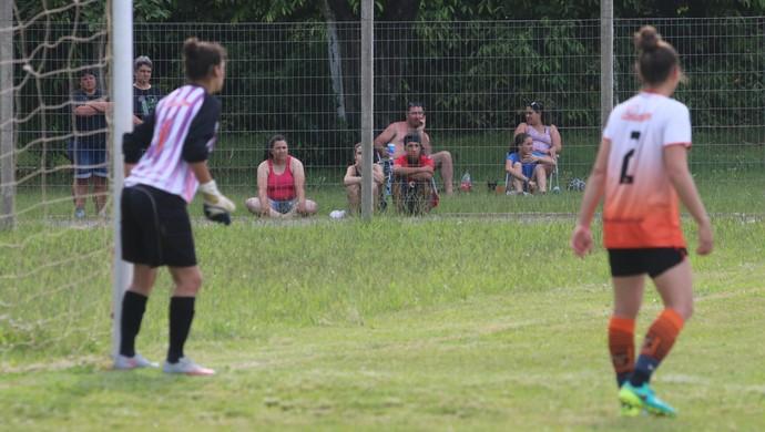 final futebol feminino centro olímpico municipal Canoas torcida (Foto: Beto Azambuja / GloboEsporte.com)