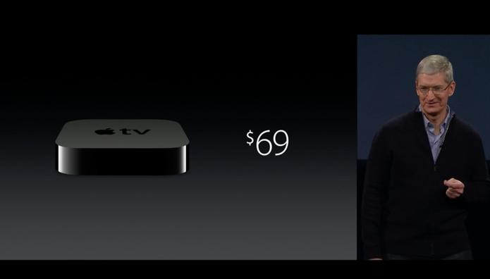Apple TV por R$ 69 no evento da Apple (Foto: reprodução)
