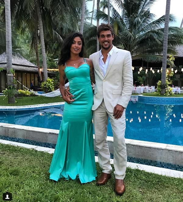 Aline Riscado e Felipe Roque (Foto: Reprodução / Instagram)