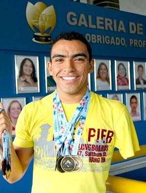 Simplicio Campos paraatleta amazonense 1=02-05-2012 (Foto: Cleomir Santos/Semed)