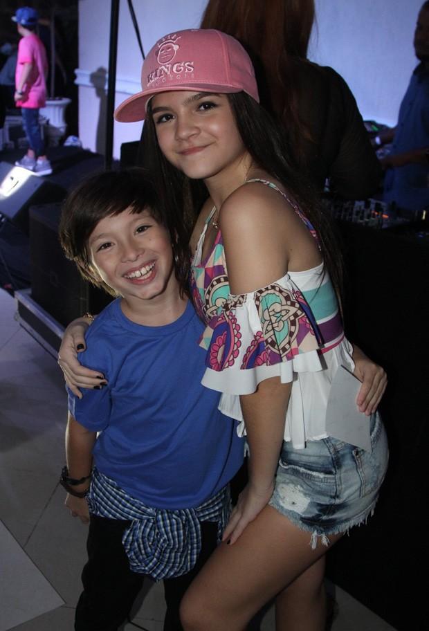 Mel Maia e Gabriel Palhares (Foto: AGnews)